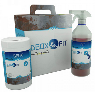 Solution de passivation Deox Fit Wipes Nitty Gritty 1